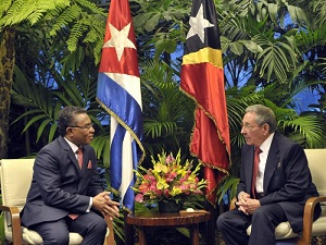 PM in Cuba on an Official Visit