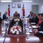PM TAUR MATAN RUAK HETAN BRIEFING HOSI EKIPA DEZENVOLVIMENTU KOMPAKTU TIMOR-LESTE