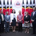 PM TAUR MATAN RUAK MEETS WITH THE DIRECTRESS OF MCC-USA