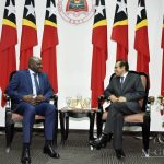 Prime Minister  of Timor-Leste welcomes his Guinean Counterpart in a Courtesy Meeting