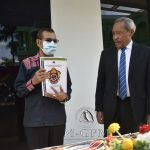Primeiro-Ministro e Ministro do Interior, Taur Matan Ruak, recebeu a pasta ministerial do Ministro do Interior Interino, Filomeno da Paixão de Jesus