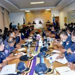 Primeiro-Ministro e Ministro do Interior Taur Matan Ruak realiza primeira reunião com a Estrutura do Comando-Geral da PNTL