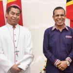 Comunicado de Imprensa : PM Taur Matan Ruak congratula Arcebispo Metropolitano de Dili a propósito da imposição do pálio pela Santa Sé