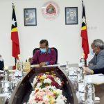 Meeting on the rehabilitation progress of Baucau airport