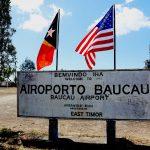 Primeiro-Ministro Taur Matan Ruak orgulhoso pela reabilitação do aeroporto de Baucau