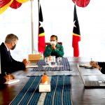 PM Taur Matan Ruak received courtesy visit from the new World Bank National Representative for Timor-Leste, Bernard Harborne